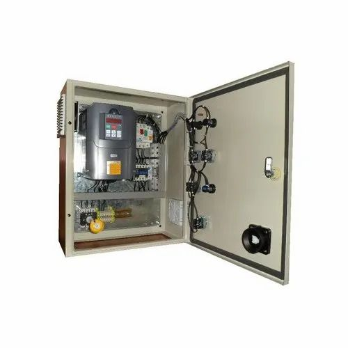 on outdoor electrical panel enclosure