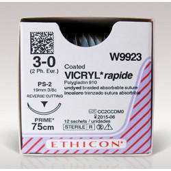Undyed Braided Absorbable Rapide Suture