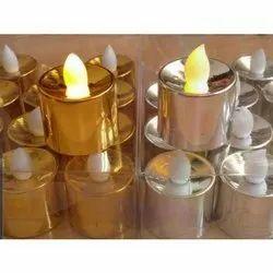 Plastic Cool White LED Candle Light