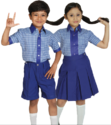 Girls Cotton School Uniform