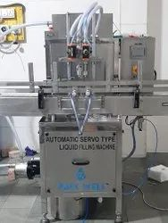 Automatic Sanitizer Filling Machine 1200 to 1800 BPH