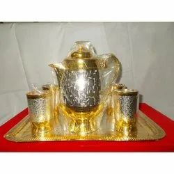 Brass Jug Set