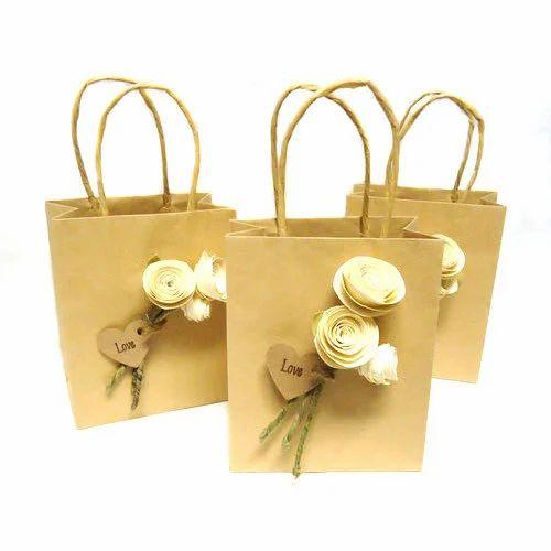 Jute Wedding Favor Bag At Rs 280 Piece