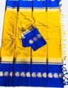Pure Cotton Silk Sarees With Blouse