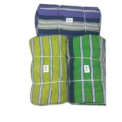 Striped Cotton Fabric, Packaging Type: Poly Bag