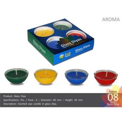 Glass Diyas - Glass Vati Candles