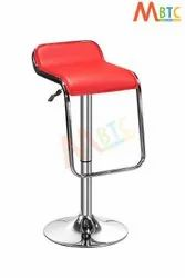 MBTC Kitchen Cafeteria Bar Stool Chair In Red