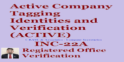 Consulting Firm Registered Office Verification Of Companies INC-22A ACTIVE