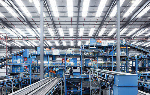 Automatic Waste PET Bottle Recycling Plant, Capacity: 200-600 kg per hour