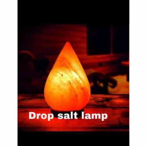 Drop Shape Himalayan Salt Lamp