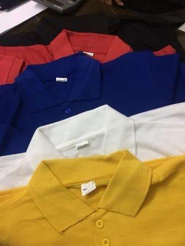 Manufacturer of T shirts manufacturers and wholesaler & Mens Collar