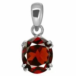 Gomed Pendant Silver Gemstone