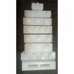 White Plastic Block