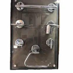 Stainless Steel Matrix Bath Set