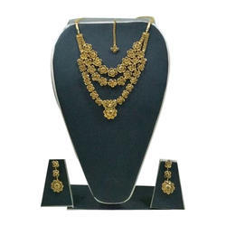 Maitri Wedding Party Wear Necklace Set