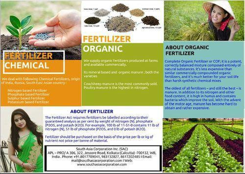 Fertilizer ( Organic & Chemical)
