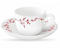 Borosil Flute Range  6 pcs Coffee Mug Set