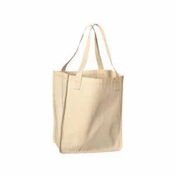 Loop Handle Plain Cotton Bag