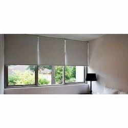 Aakaar Carpets PVC Blackout Roller Blinds, Window