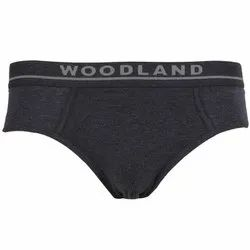 Woodland IWBR 002 Men's Plain Cotton Brief