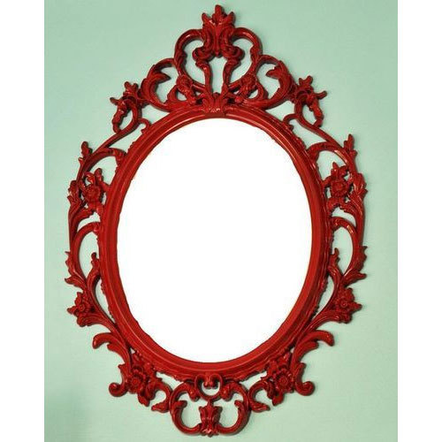 Oval Iron Wall Mirror Frame, Rs 1400 /piece, M/s Zia International ...