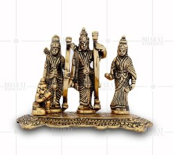 Gold Plated Ram Darbar Idol