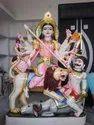 Marble Maheshasuri Mata Statue