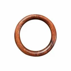 Red Sandalwood Plain Bangle