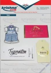 Hang tags online manufacture India