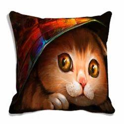 Polyester Multicolor Sofa Cushion