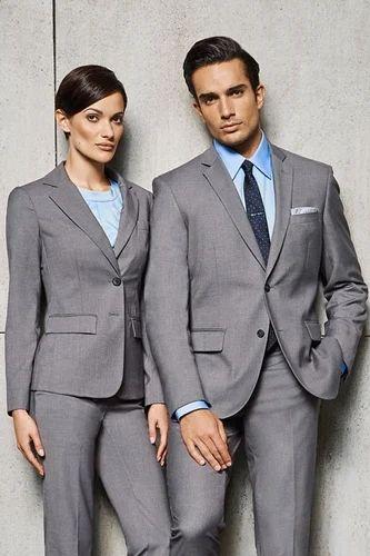 Cotton And Nylon Office Uniforms Size Small Medium