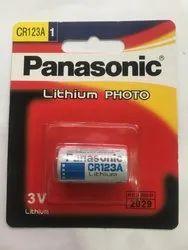 Panasonic CR123A CNC Battery, For MULTI PURPOSE, 3V