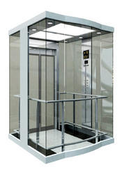 Elevator Glass Cabin (One Side / Two Side Glass)