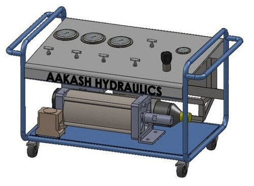 Customized Testing Machine   Burst Test For Brass Fittings Manufacturer  From Ahmedabad
