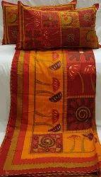 Kathawork Double Bedsheets