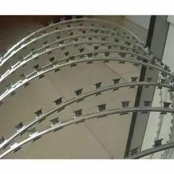 Concertina Razor Coil, Material Grade: Gi, Size: 2mm - 5mm