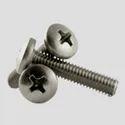 Ss Phillips Head Screw, Material Grade: 302, Grade: 304