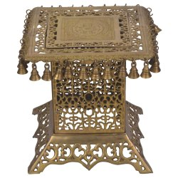 Statue Studio Brass Table