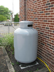 Above Ground Propane Installation