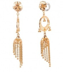 TOP 006 Gold Earring