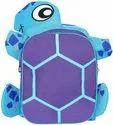 1000 Denier 14 l Blue Turtle Design Kid's School Bag Dimension (LxWxH):- (11x4x14 Inches)