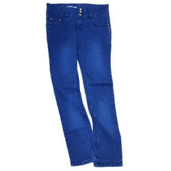3g Blue Girls Dobby Jeans