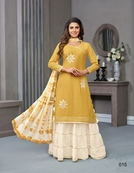 Plazzo Style Casual Salwar Kameez