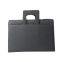Hawk-i Leather Conference File Folder With Handle, Paper Size: Full Scale, Packaging Type: Carton