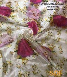 Organza Digital Printed Fabrics