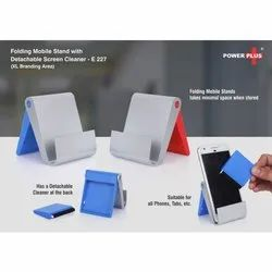 E227 - Folding Mobile Stand With Detachable Screen Cleaner