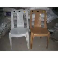 Without Arm Plastic Chair