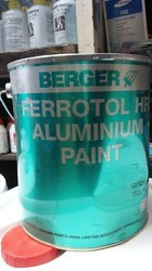 Black And Silver High Temperature Paint