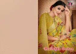 Malishka Cotton Vol 1 Jaipuri Linen Saree