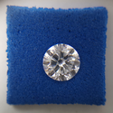 CVD Diamond  0.74ct F VVS1 Round Brilliant Cut  HRD Certified Stone